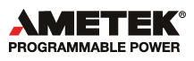 AMETEK Programmable Power, USA